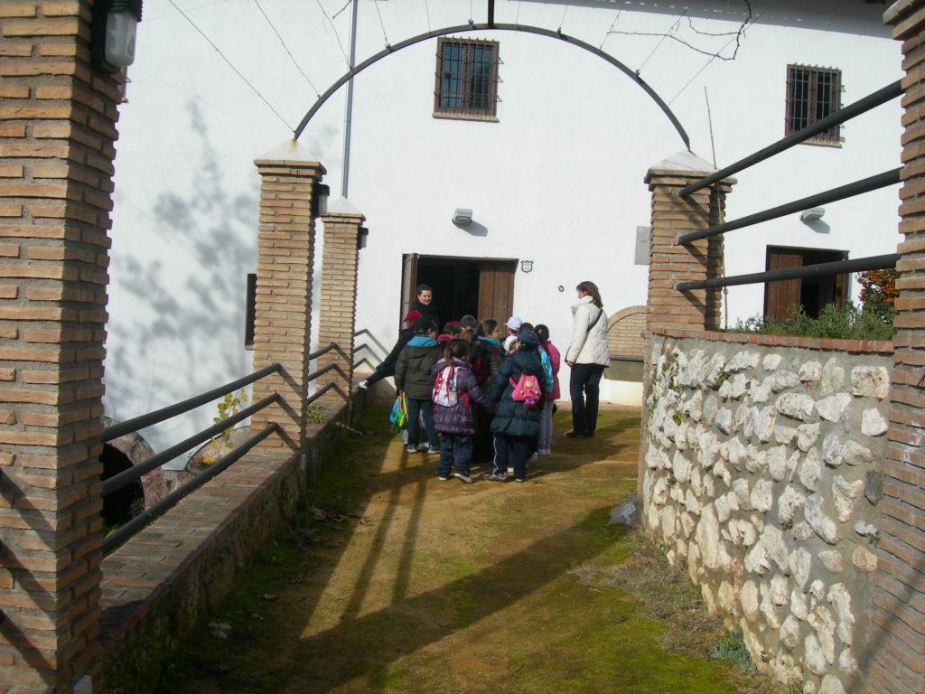 tren del patrimonio_visita molino viznar